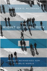Image: The Right of Publicity book cover