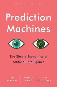 Image: Prediction Machines book cover