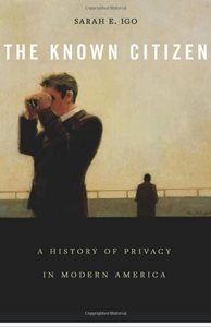 Image: The Known Citizen book cover