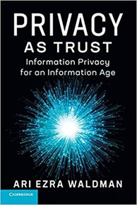 Image: Privacy as Trust book cover