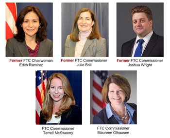 Image: FTC Commissioners