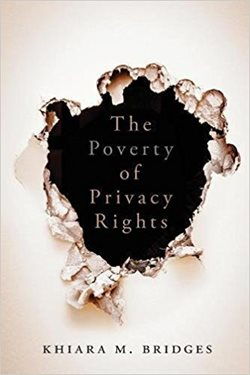 Image: Book cover - The Poverty of Privacy Rights
