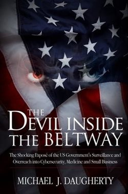 Image: The Devil Inside the Beltway book cover