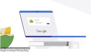 Image: Google page on laptop screen