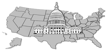 Image: US Map and US Capitol