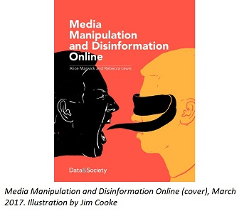 Image: Media Manipulation and Disinformation Online book cover
